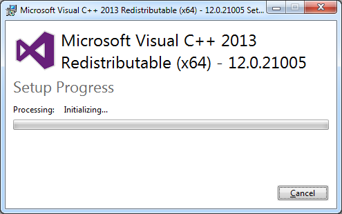 Stellarium Installation: Microsoft Visual C++ 2013 Redistributable