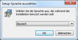 Stellarium installieren Sprache Deutsch