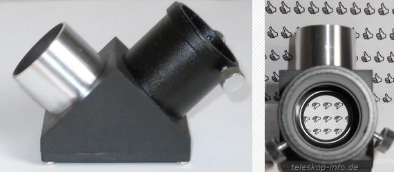Teleskop-Zubehör: Zenitspiegel