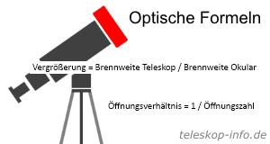 Teleskop Optische Formeln